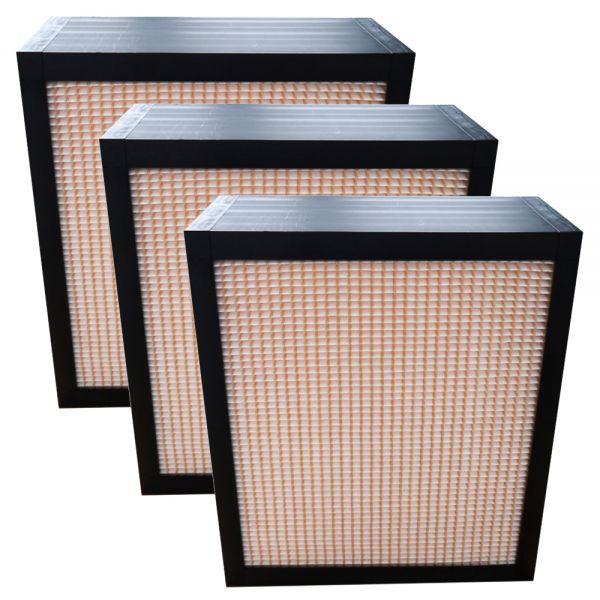 Ersatzfilter-Set (3 Stück) passend für Exhausto VEX280 - Filterklasse M5 (F5)
